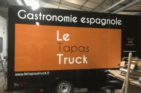 Food Truck gastronomie espagnole