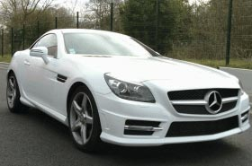 Total covering Mercedes SLK