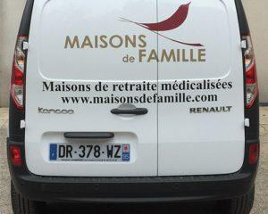 Marquage Flocage vehicule professionnel