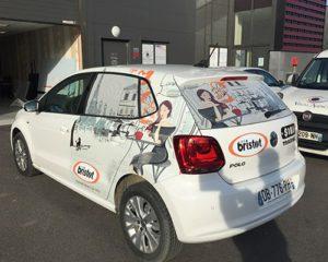 Semi-covering vehicule professionnel